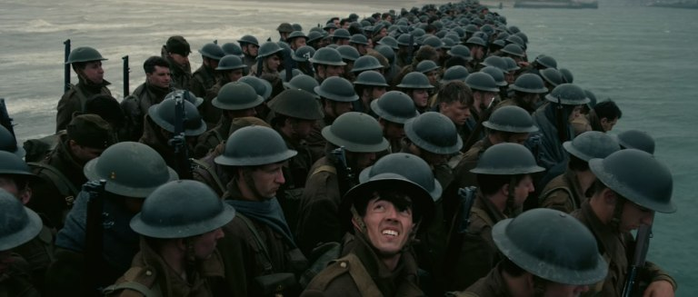 Soldados en Dunkerque
