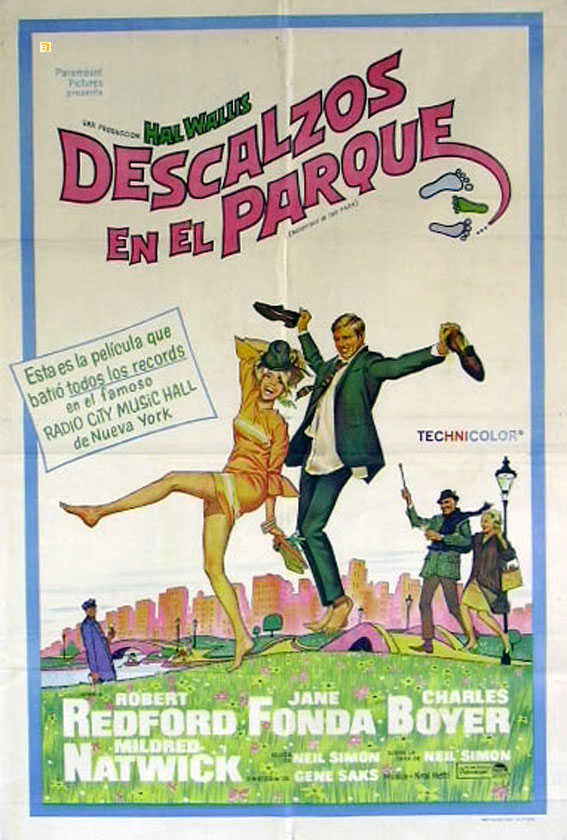 Poster de Descalzos en el Parque