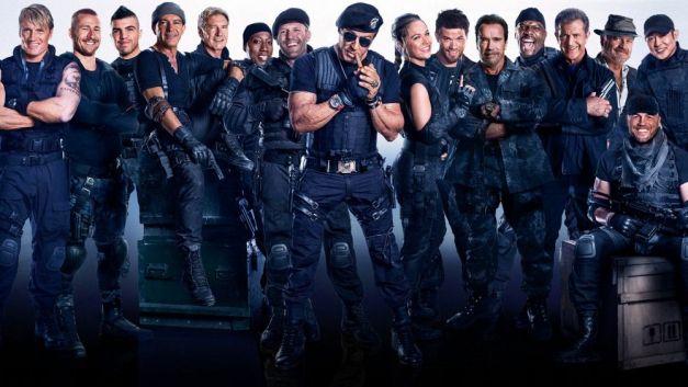 Promo de Los Mercenarios 3