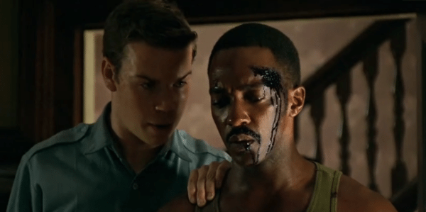 Will Poulter y Anthony Mackie en Detroit