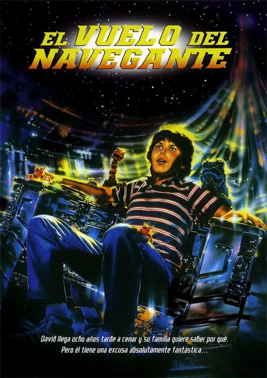 Poster de El Vuelo del Navegante