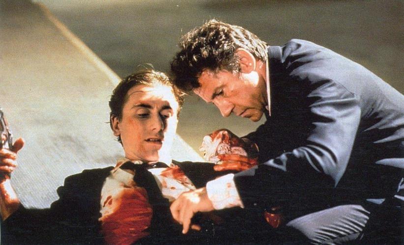 Tim Roth y Harvey Keitel en Reservoir Dogs