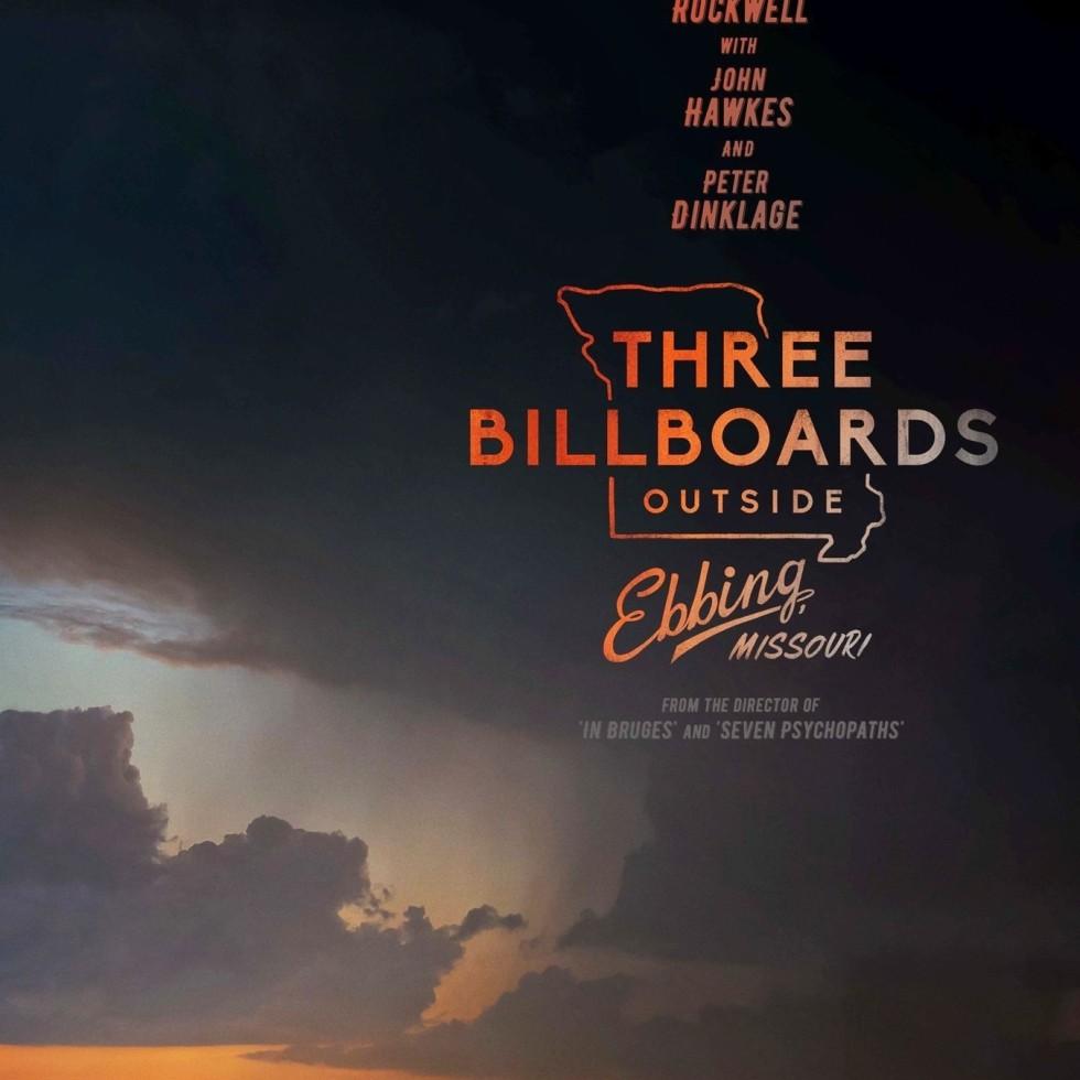 Poster de Tres Anuncios en las Afueras
