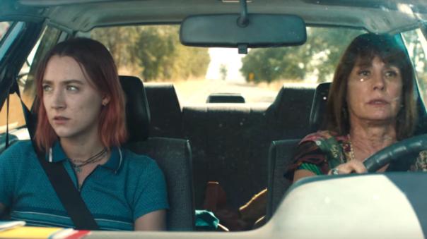 Saoirse Ronan y Laurie Metcalf en Lady Bird