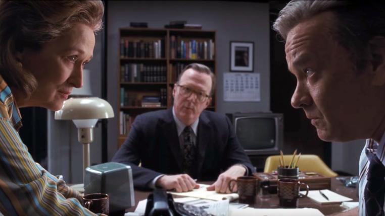 Meryl Streep y Tom Hanks en The Post