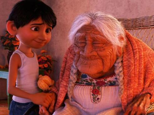 Miguel y Coco en Coco