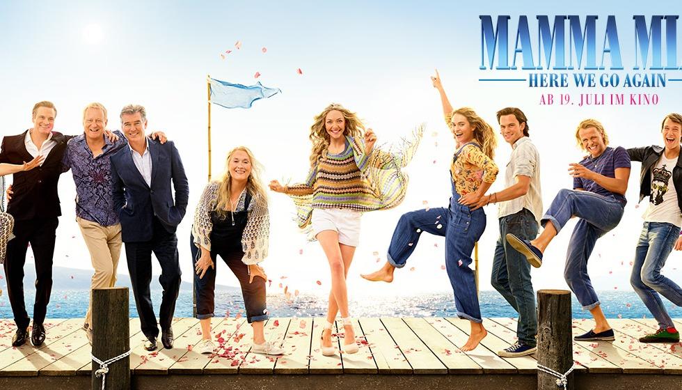 Poster de Mamma Mia! Una y Otra Vez