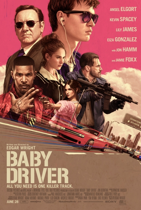 Poster de Baby Driver