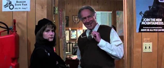 Jennifer Jason Leigh y Christopher Plummer en Eclipse Total (Dolores Claiborne)