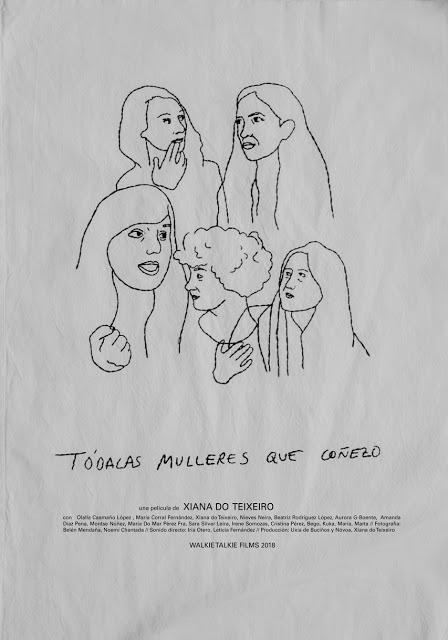 Poster Todálas Mulleres que Coñezo, Zinebi 2018