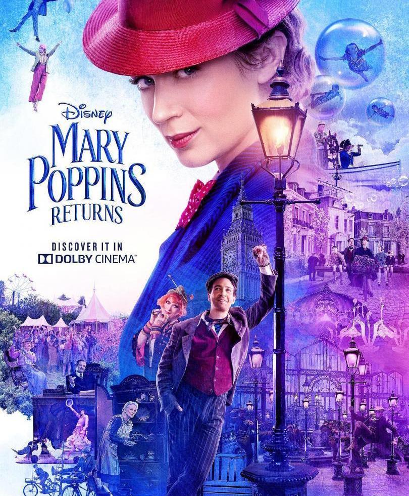 Poster de El Regreso de Mary Poppins