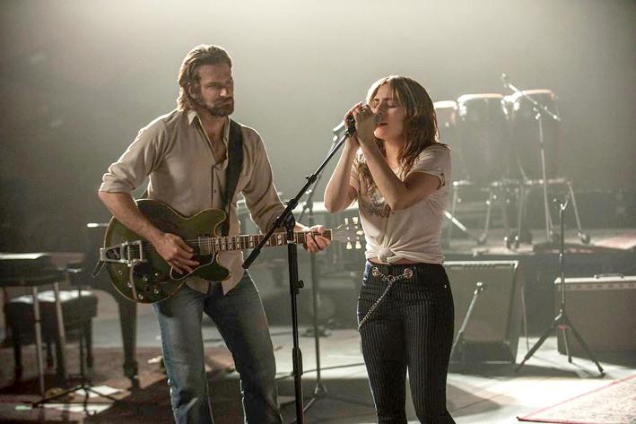 Bradley Cooper y Lady Gaga en Ha Nacido Una Estrella