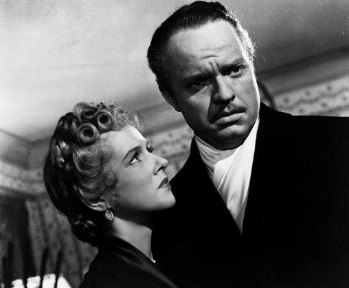 Dorothy Comingore y Orson Welles en Ciudadano Kane