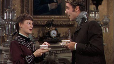 June Allyson y Peter Lawford en Mujercitas, 1949