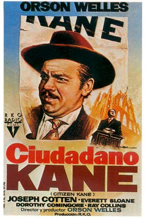 Poster de Ciudadano Kane