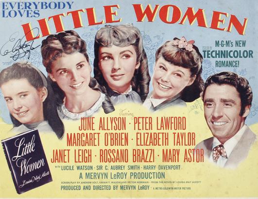 Poster de Mujercitas, 1949