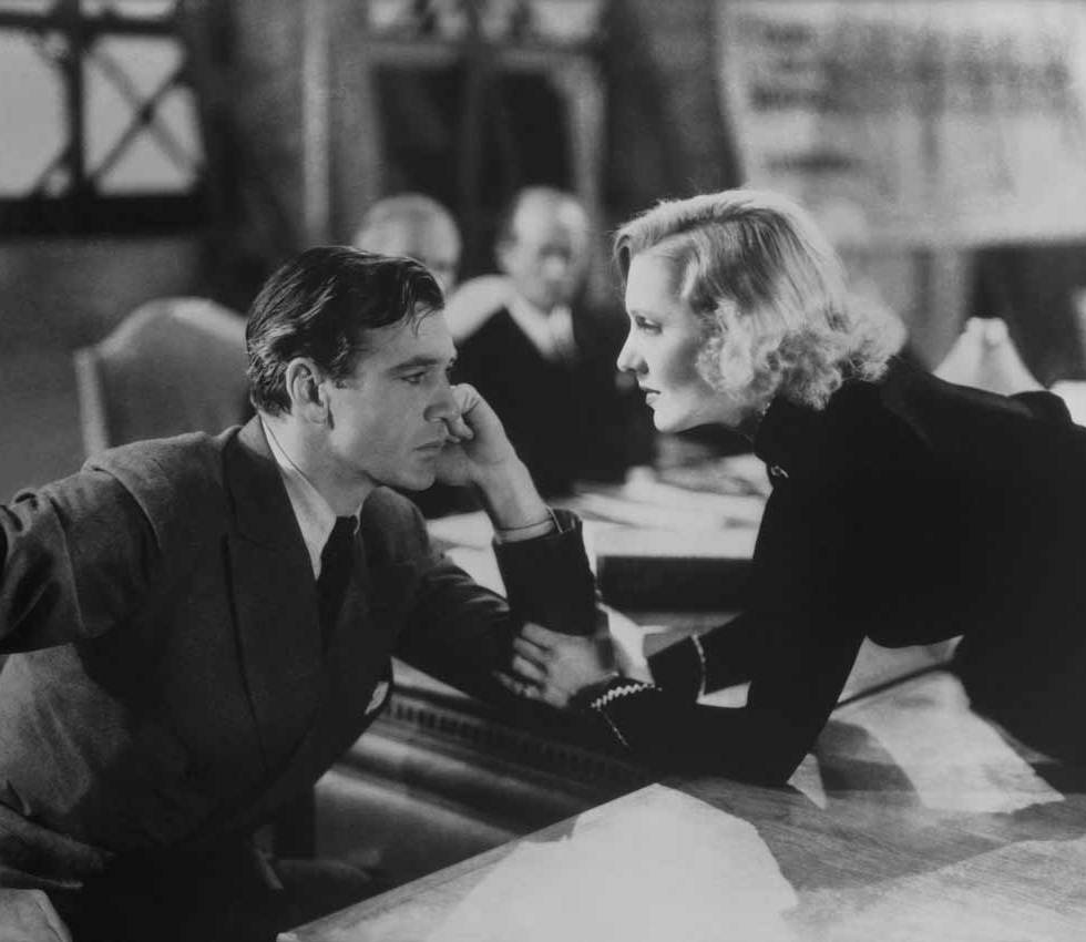 Gary Cooper y Jean Arthur en El Secreto de Vivir
