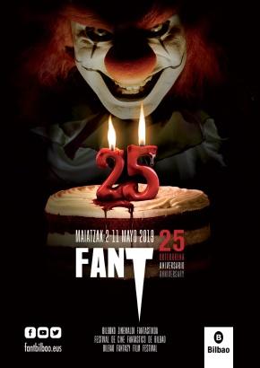 Poster de FANT 2019, el 25 aniversario