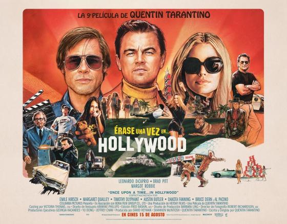 Poster de Érase una Vez en... Hollywood
