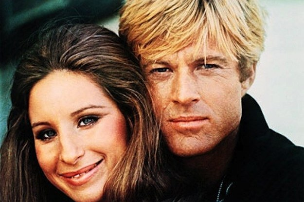Barbra Streisand y Robert Redford en Tal Como Éramos