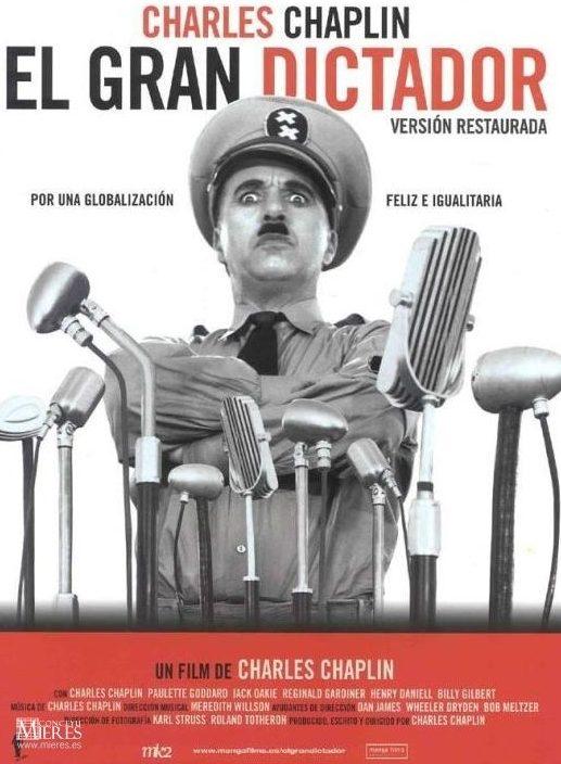 Poster de El Gran Dictador