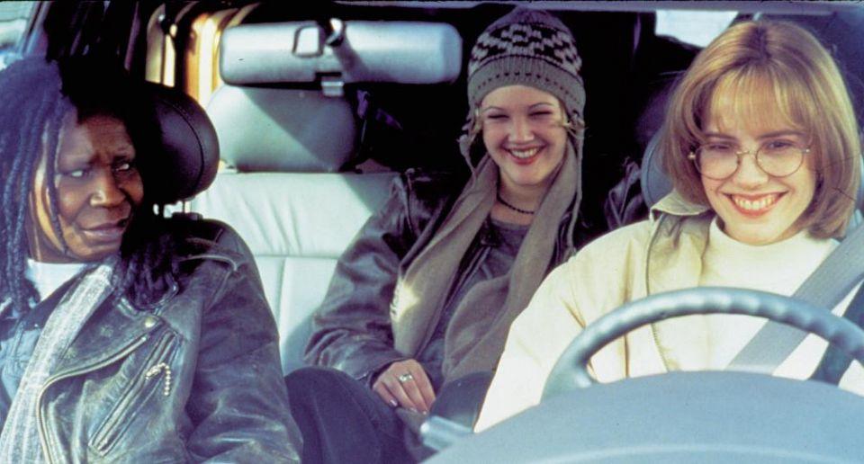 Whoopie Goldberg, Drew Barrymore y Mary-Louise Parker en Solo Ellas...Los Chicos a un Lado