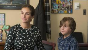 Julia Roberts y Jacob Tremblay en Wonder