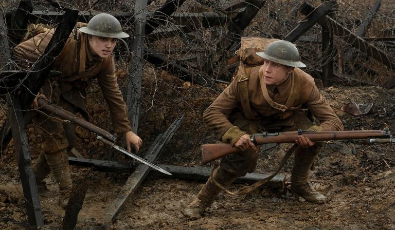 Los protagonistas de 1917
