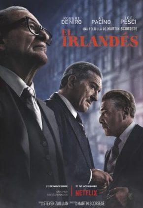 Poster de El Irlandés