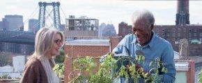 Diane Keaton y Morgan Freeman en Ático sin Ascensor