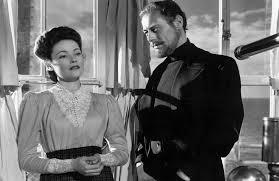 Gene Tierney y Rex Harrison en El Fantasma y la Señora Muir