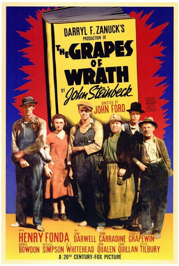 Poster de Las Uvas de la Ira
