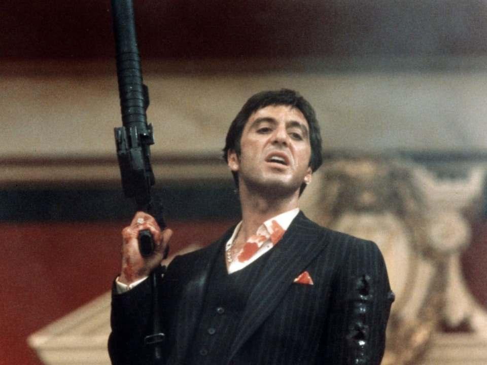 Al Pacino en Scarface