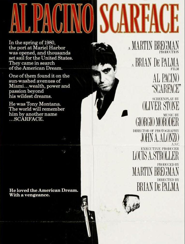 Poster de Scarface