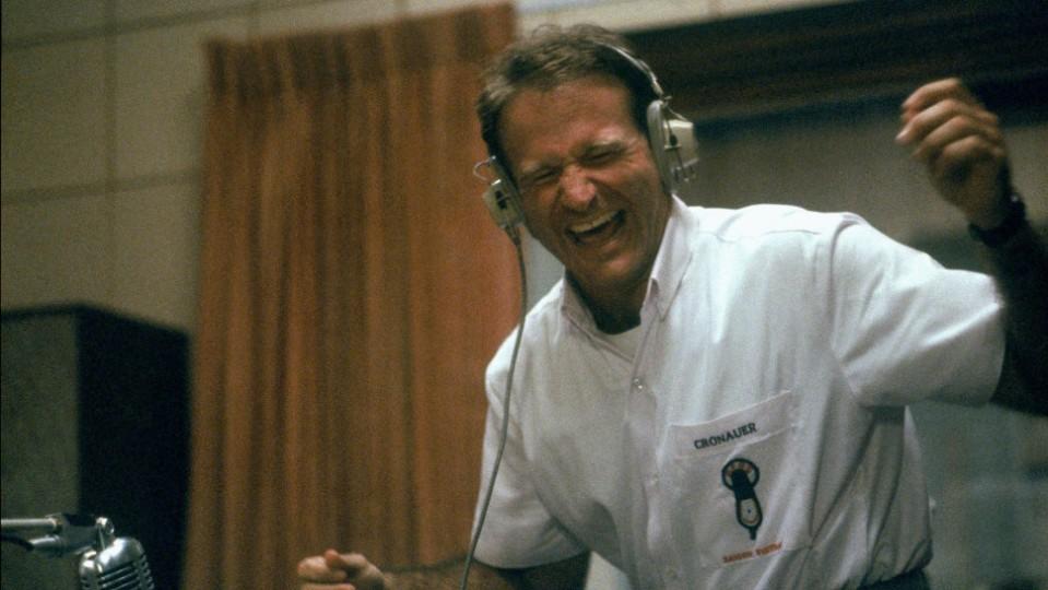 Robin Williams en Good Morning, Vietnam