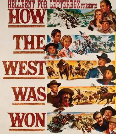 Poster de La Conquista del Oeste