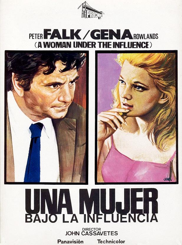 Poster de Una Mujer Bajo la Influencia