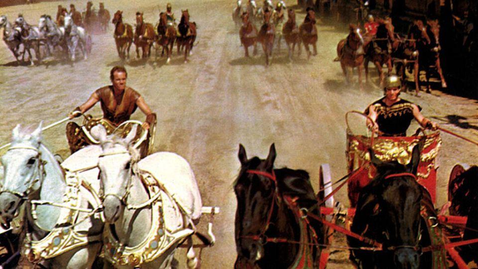 Carrera de cuádrigas de Ben-Hur