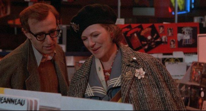 Woody Allen y Dianne Wiest en Hannah y sus Hermanas