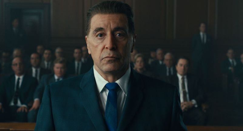 Al Pacino en El Irlandés