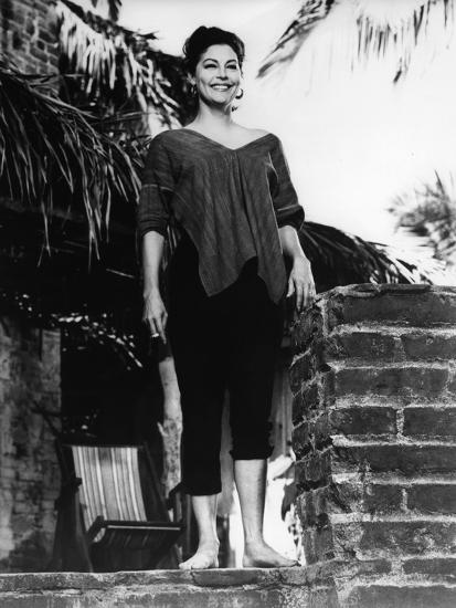 Ava Gardner en La Noche de la Iguana