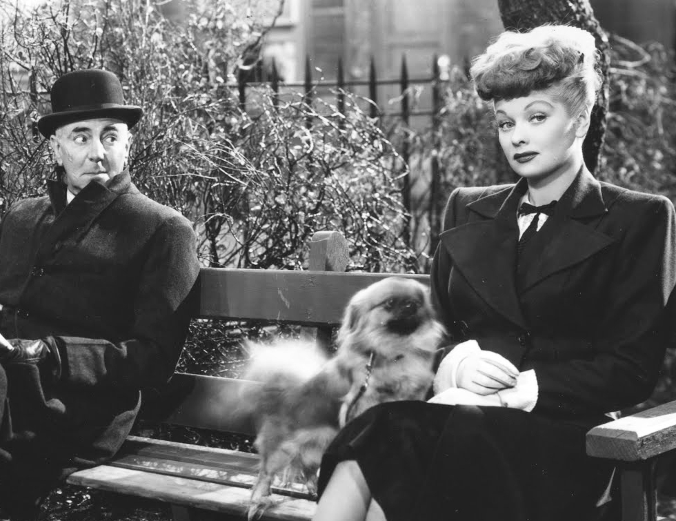 George Zucco y Lucille Ball en El Asesino Poeta