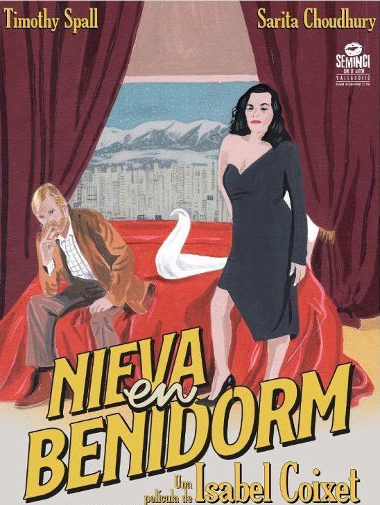 Poster de Nieva en Benidorm