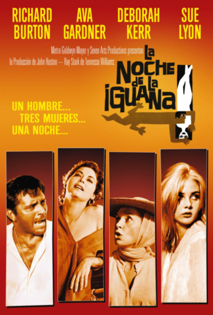 Poster de La Noche de la Iguana