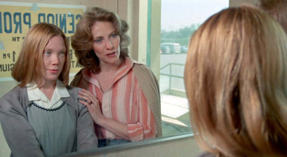 Sisy Spacek y Betty Buckley en Carrie
