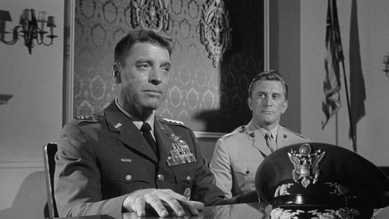 Burt Lancaster y Kirk Douglas en Siete Días de Mayo