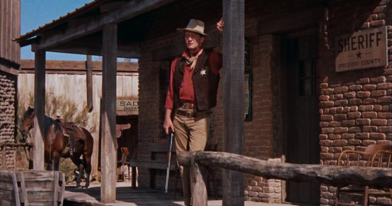 John Wayne en Río Bravo