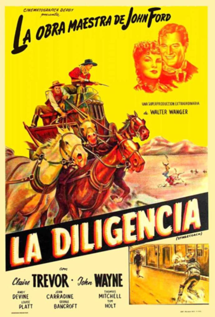Poster de La Diligencia