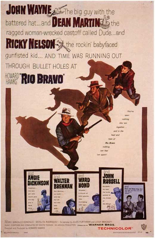 Poster de Río Bravo