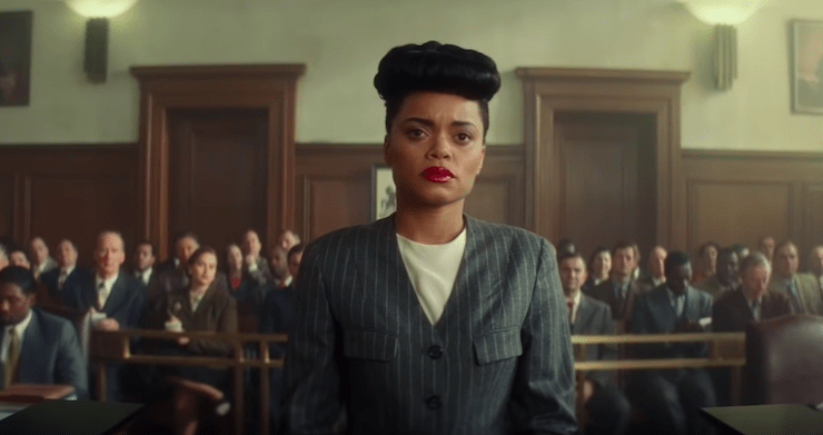 Andra Day en The United States Vs. Billie Holiday